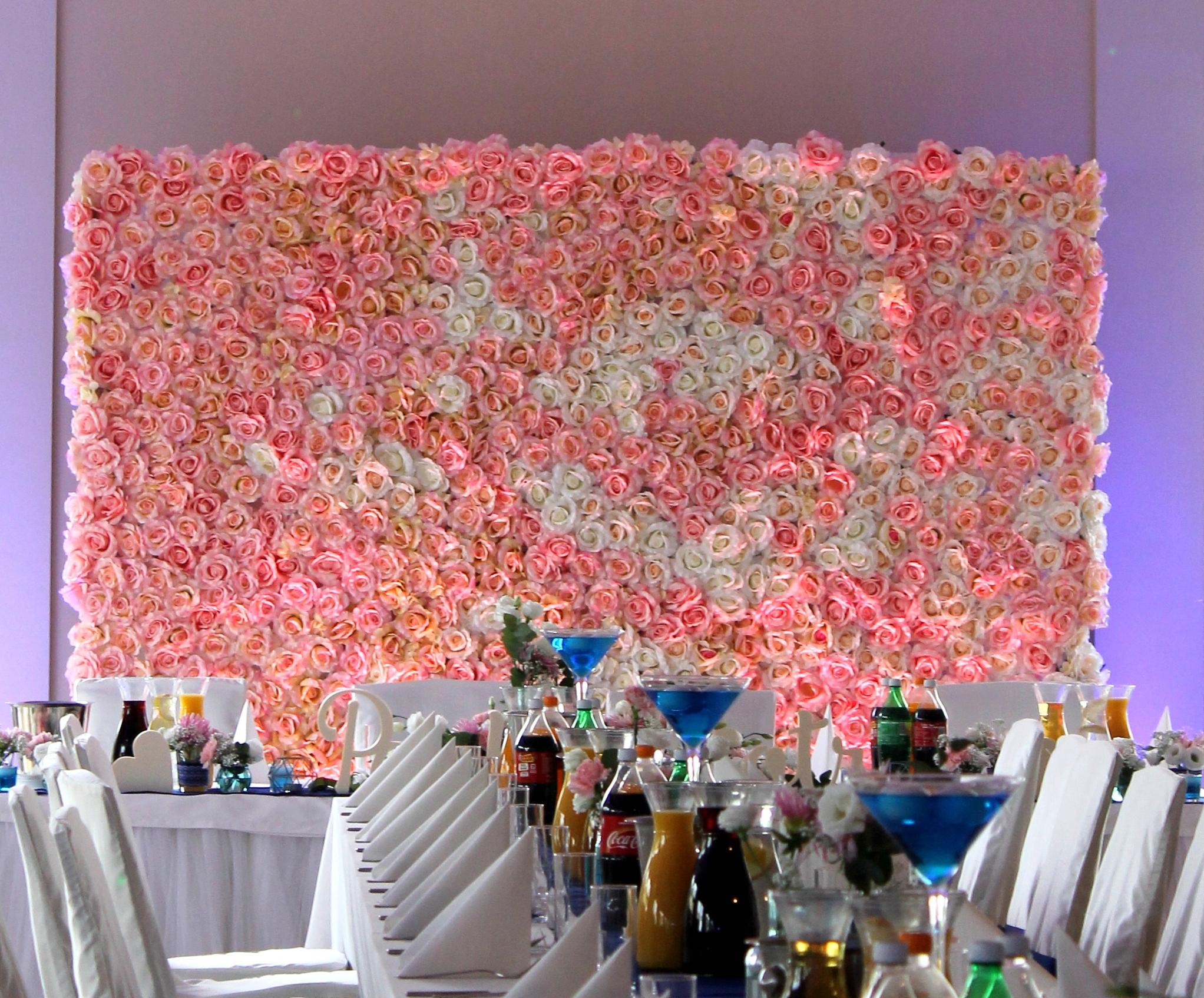 ścianka Kwiatowa ślub Wesele Olsztyn 7493445601 Oficjalne