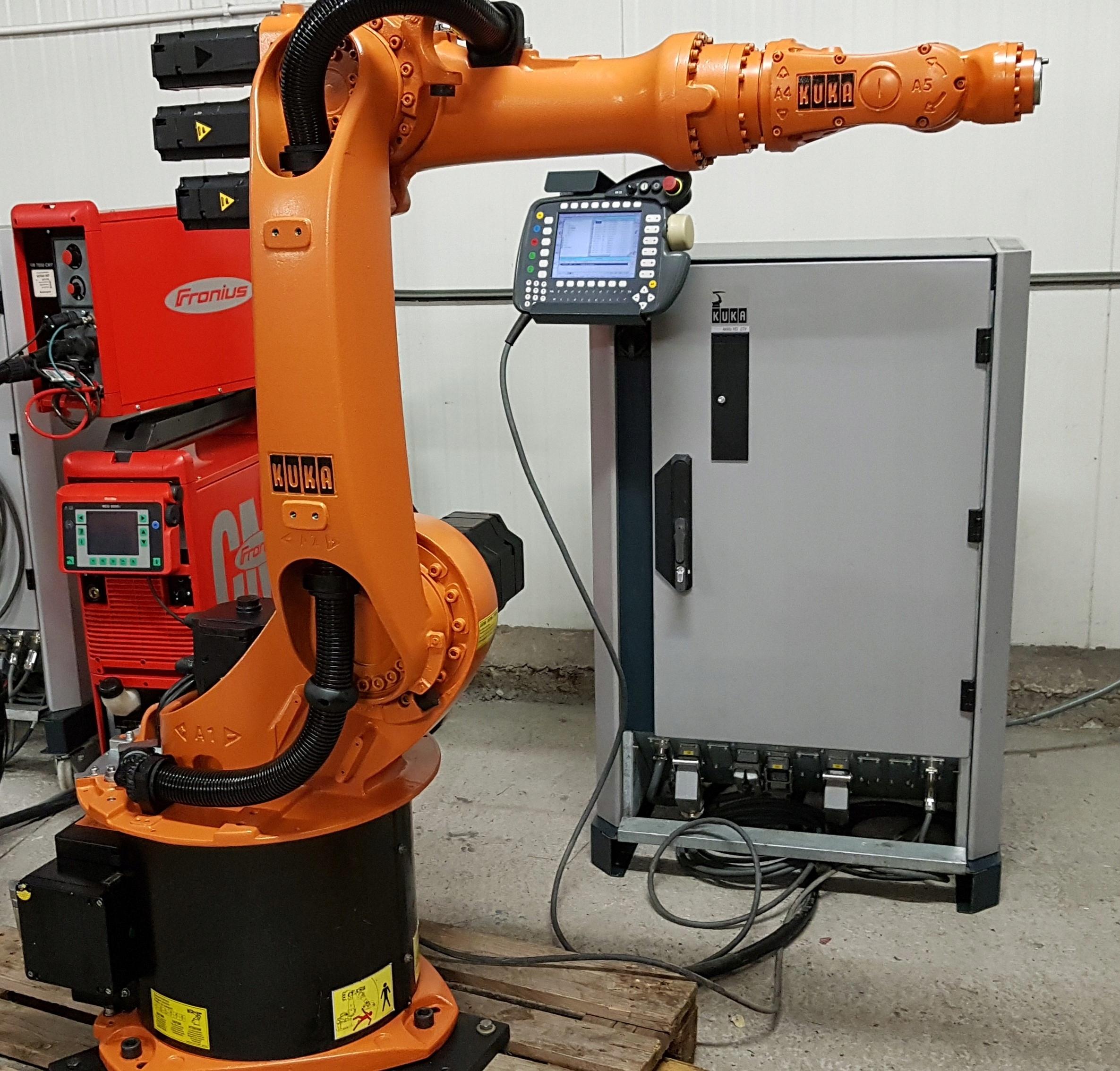 Wszystkie nowe ROBOT SPAWALNICZY - KUKA KR6 - FRONIUS - OKAZJA - 7729619289 JS25