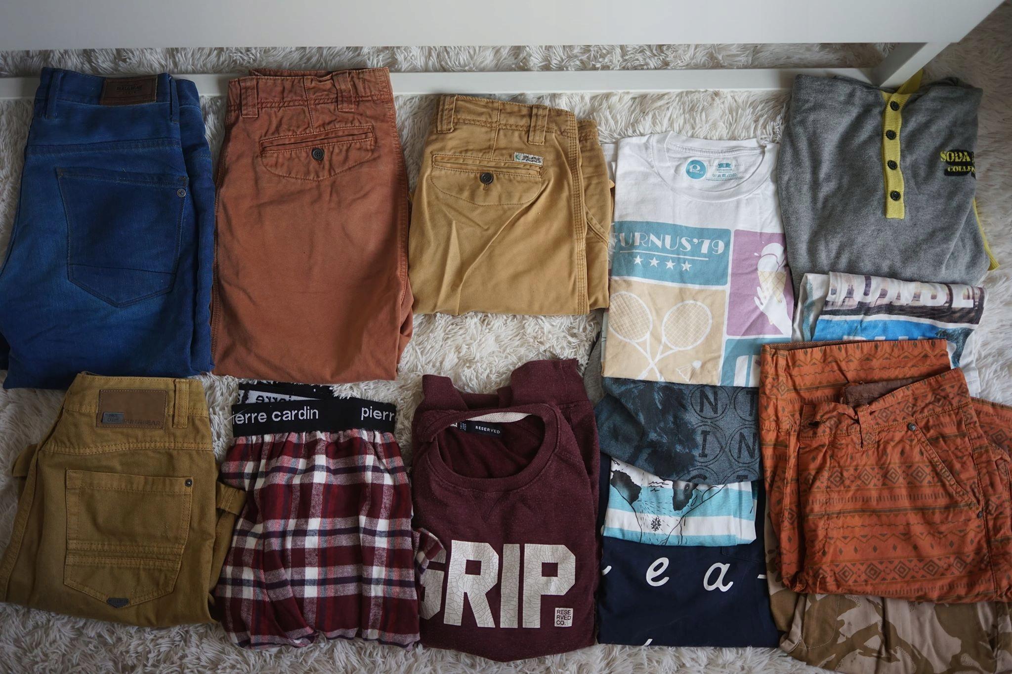 Zestaw ubrań Pull&Bear Pierre Spodnie 31