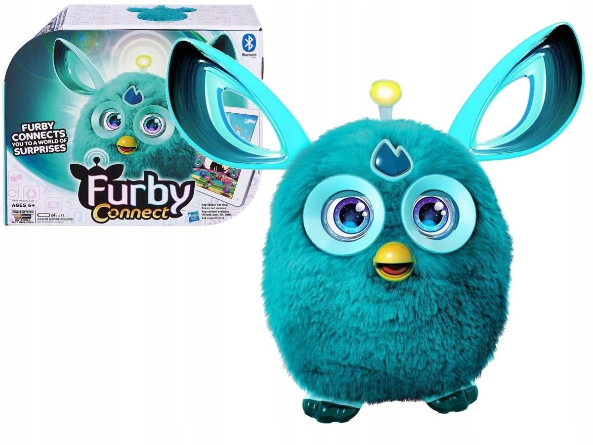 203db36619 Hasbro FURBY CONNECT Interaktywny TURKUS mówi 1000 - 7507091455 ...