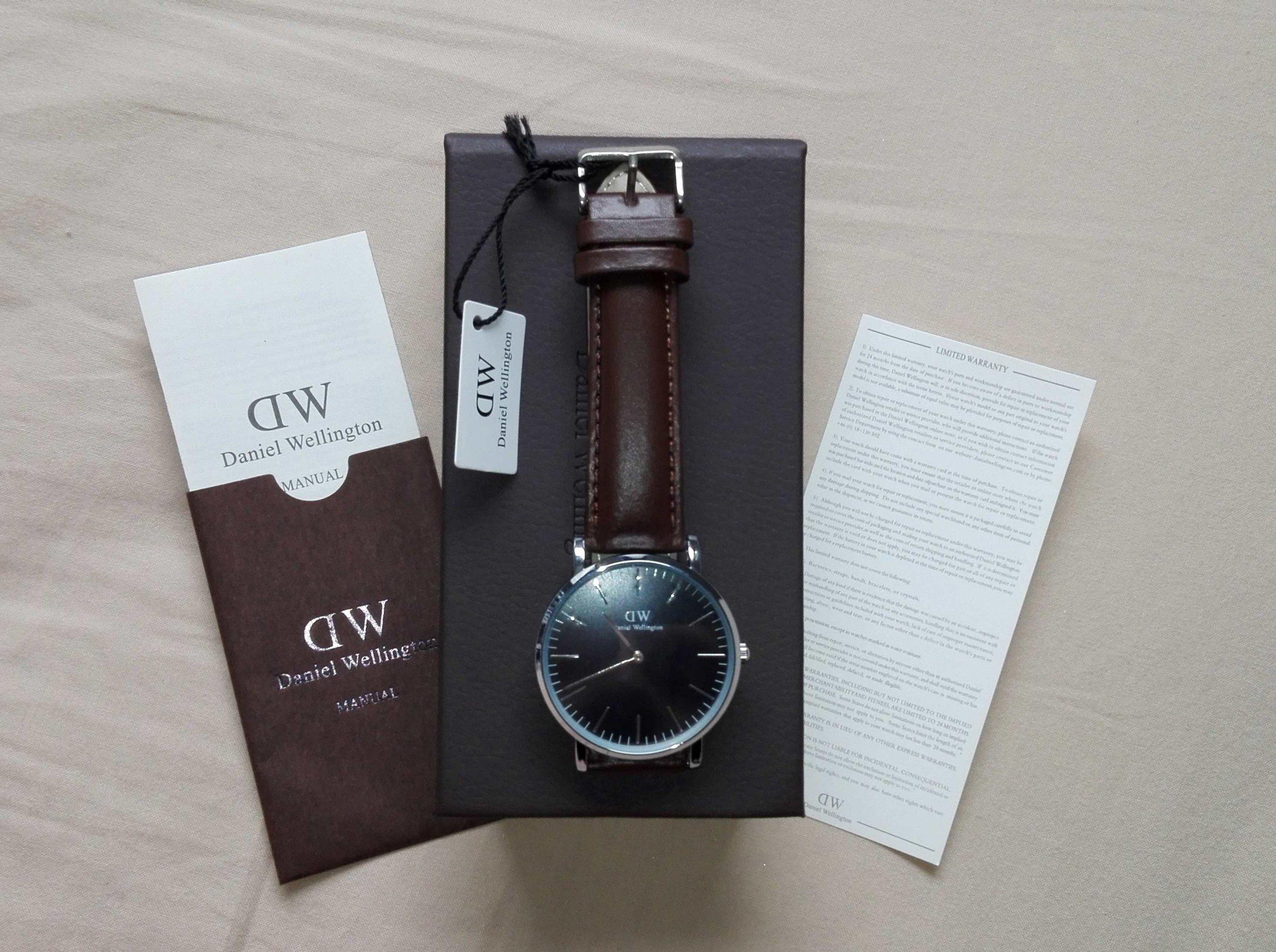 Zegarek DANIEL WELLINGTON Classic Black DW00100130