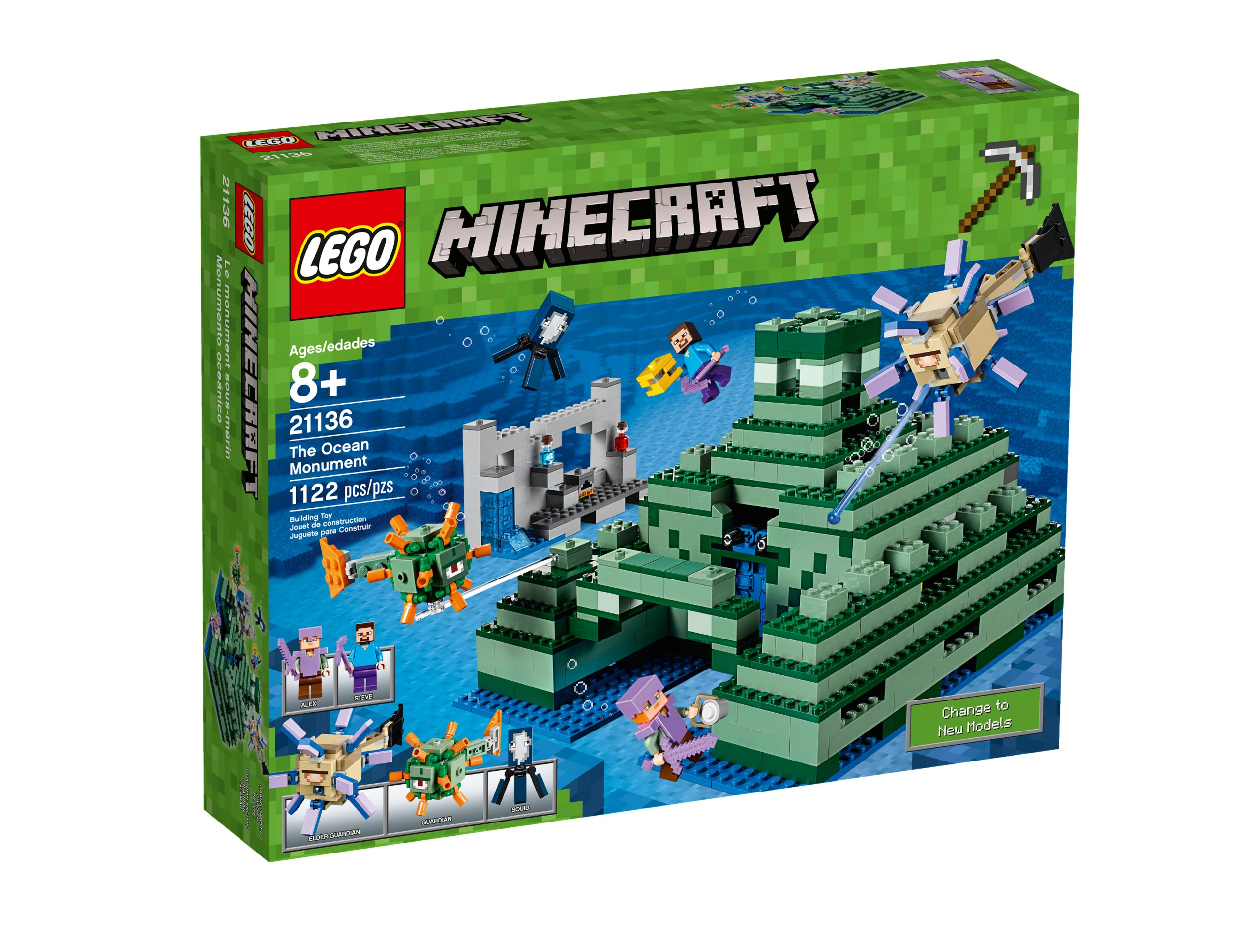 Lego Minecraft Oceaniczny Monument 21136 7214976911 Oficjalne