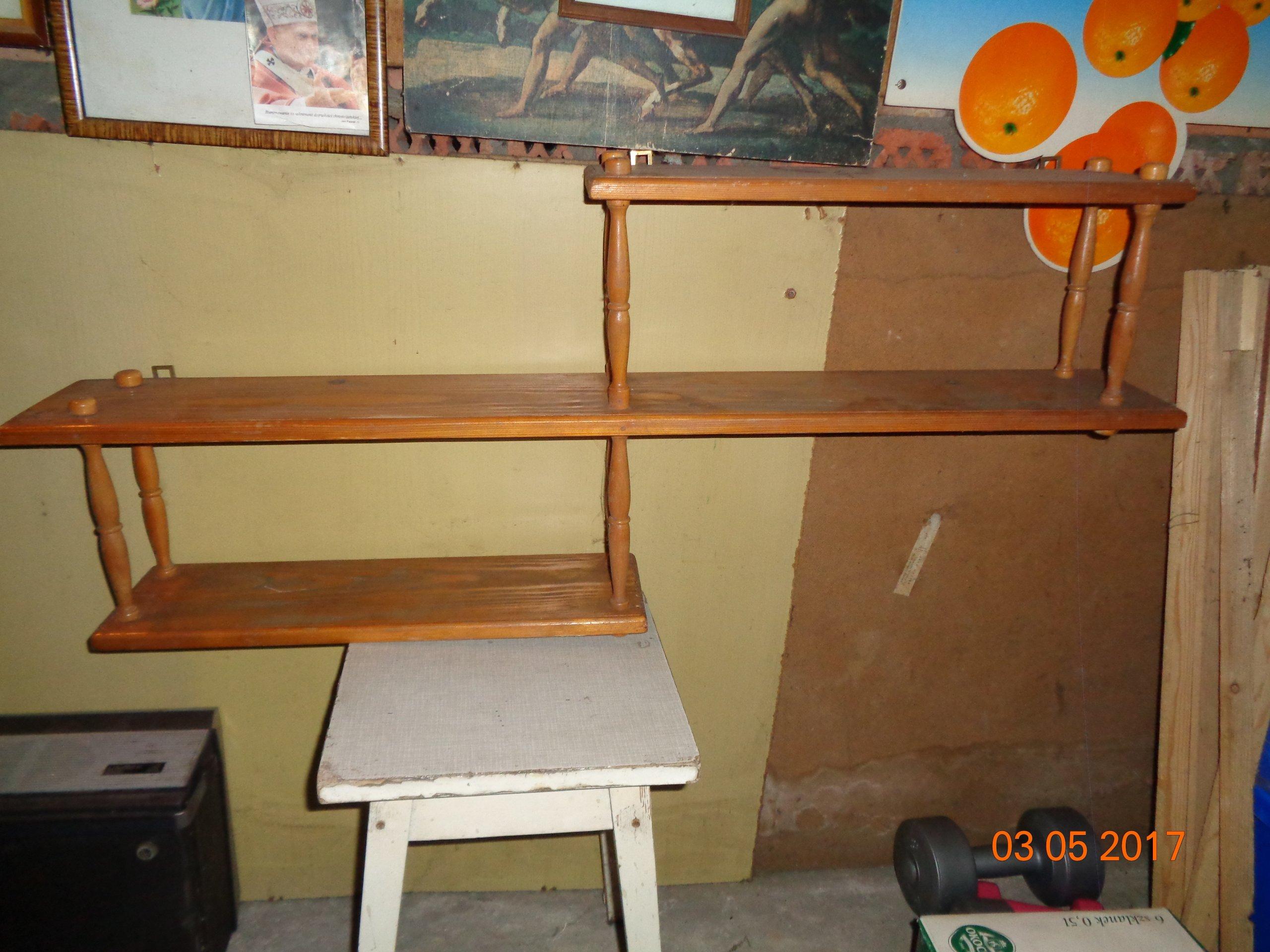 Półka Drewniana Na ściane 7144192342 Oficjalne Archiwum