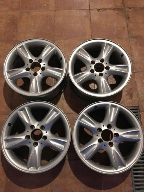 Felgi Aluminiowe Mercedes W202 W210 W208 E Clk C 7428775345
