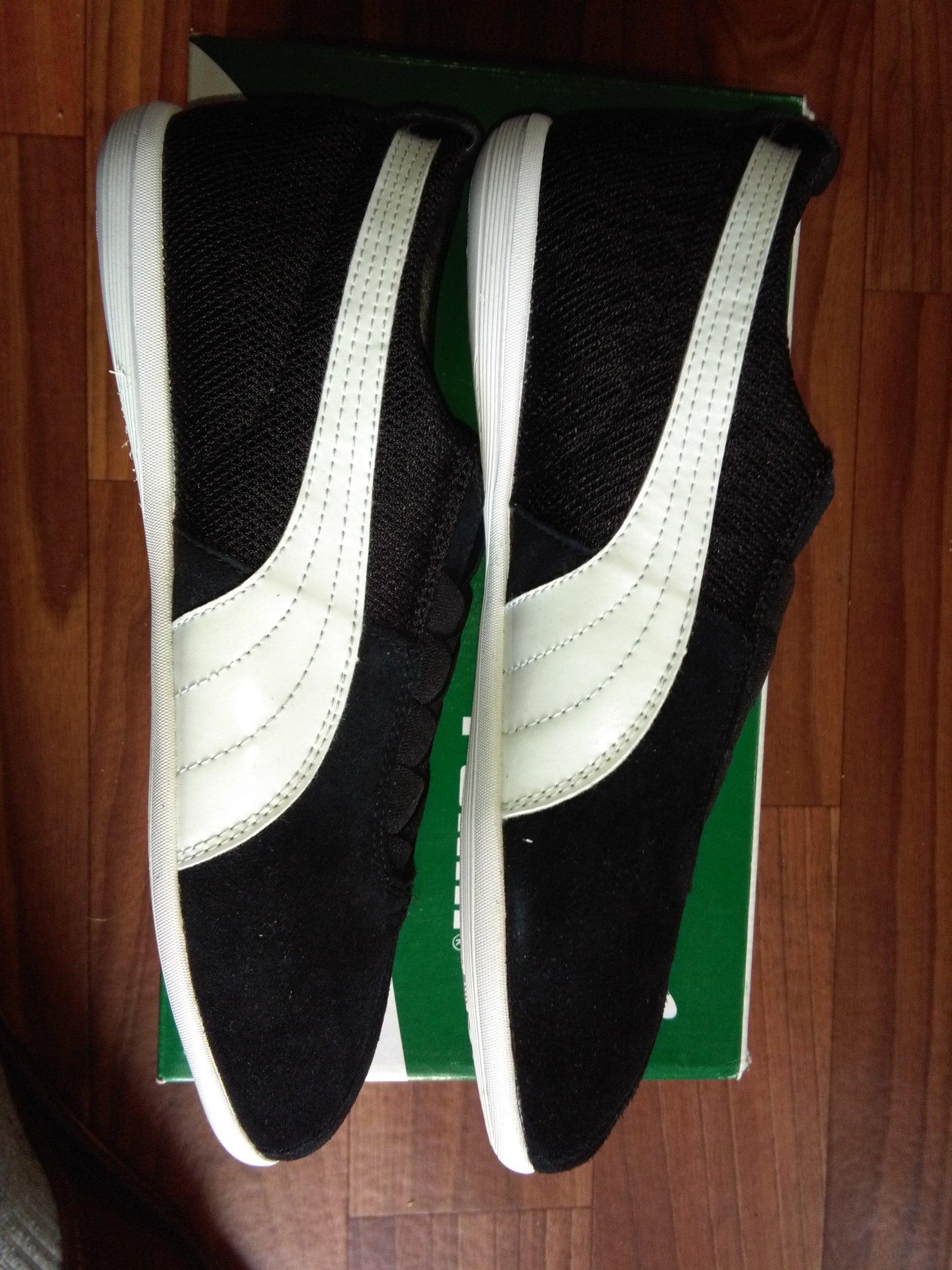 Damskie trampki puma rozmiar 38 czarne streetwear