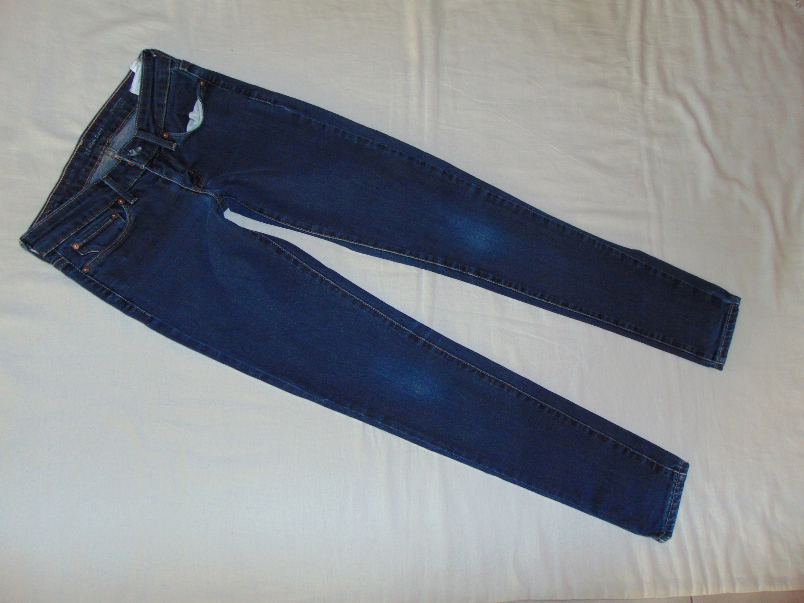 4dafe2cd LEVI'S SLIGHT CURVE Spodnie RURKI damskie roz 24
