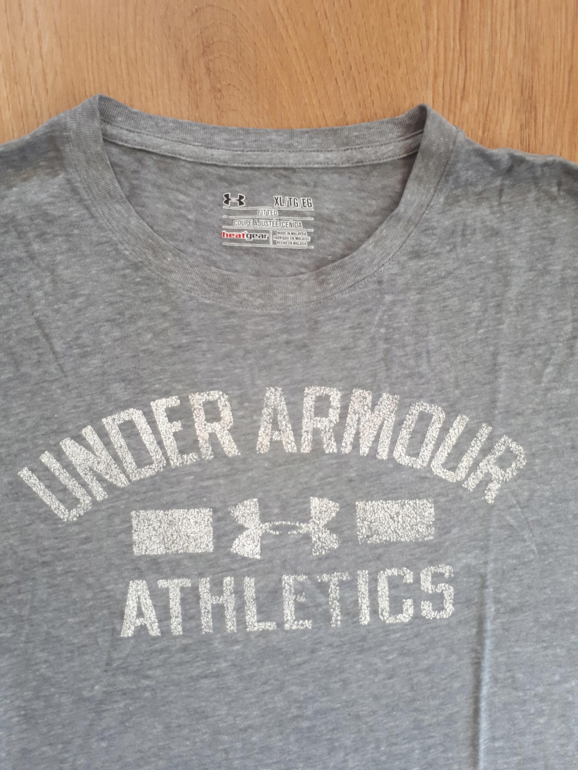 0825b5856 Męska koszulka Under Armour rozmiar L - 7481963179 - oficjalne ...