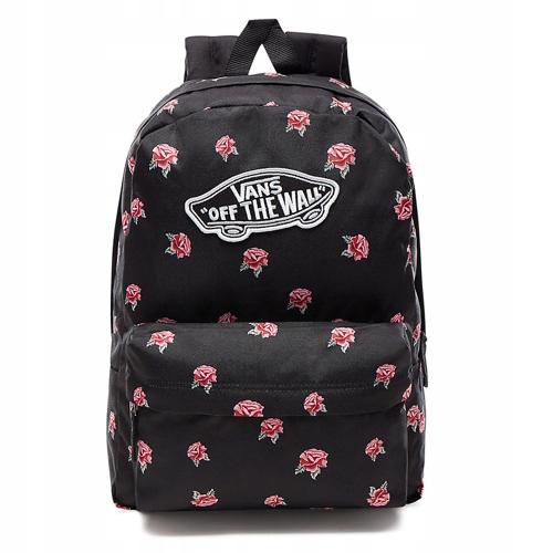 cc995d5739d7d Plecak VANS Realm Black Rose szkolny VN0A3UI6RDU - 7556556517 ...
