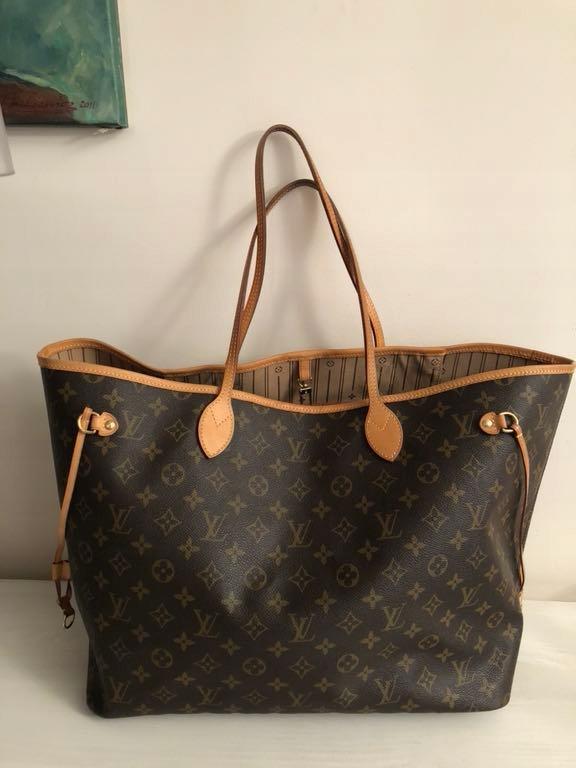fe6d85da375f3 Louis Vuitton neverfull gm 100% oryg - 7746554389 - oficjalne ...