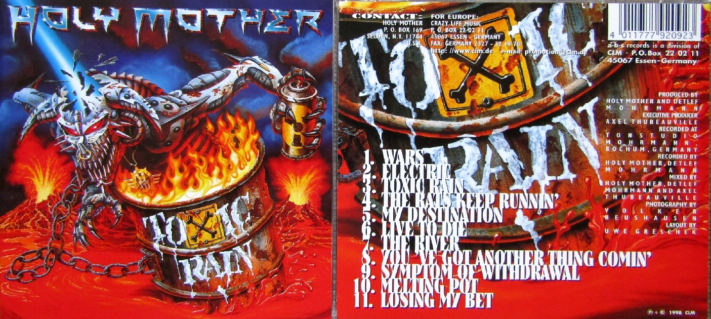 HOLY MOTHER - TOXIC RAIN - CD