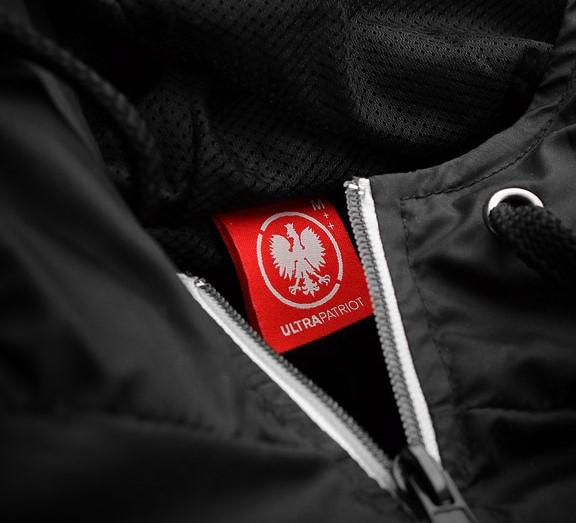 ba684dc6acd7 ULTRAPATRIOT ORZEŁ czarna kurtka patriotyczna XL - 7164731293 ...