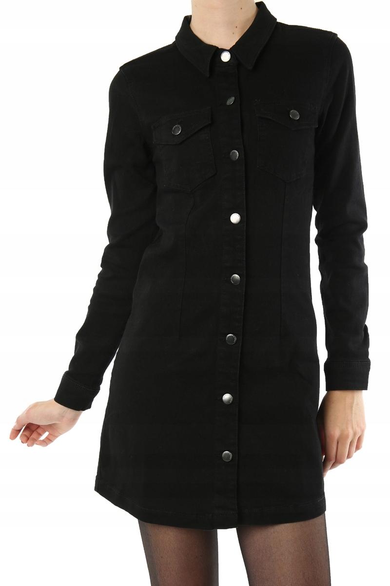 d8099c48 K79 Jacqueline de Yong sukienka jeansowa XS 34
