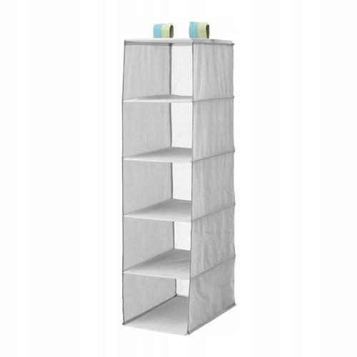 Ikea Slakting Szafa Z 5 Półkami Wiszące Półki 7045776127