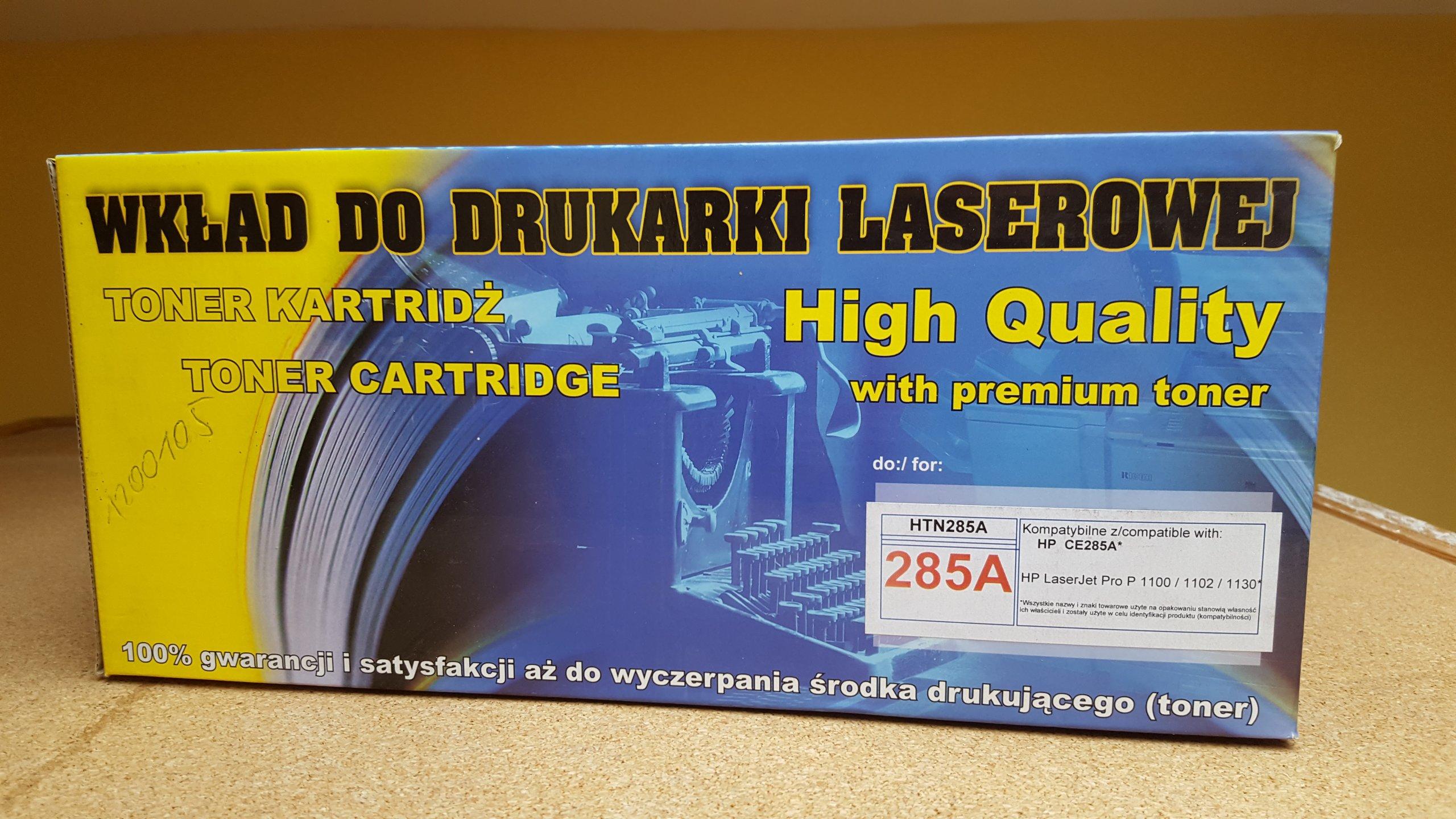 Toner Hp Ce285a 85a Laserjet P1102 W M1130 M1132 7077789862 Compatible