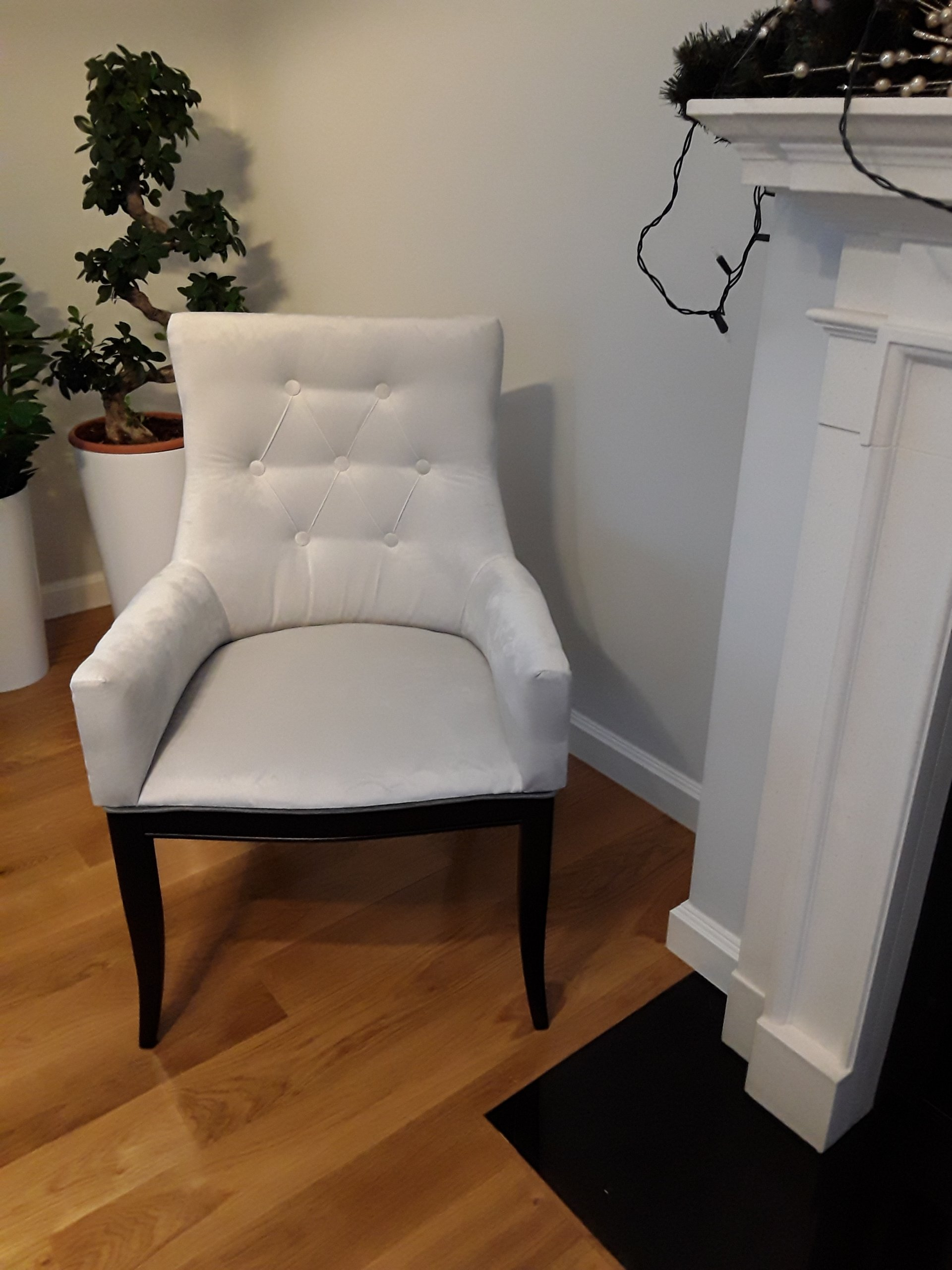 Glamour 7162363610 Krzesło Oficjalne Fotelowe Stylu Z