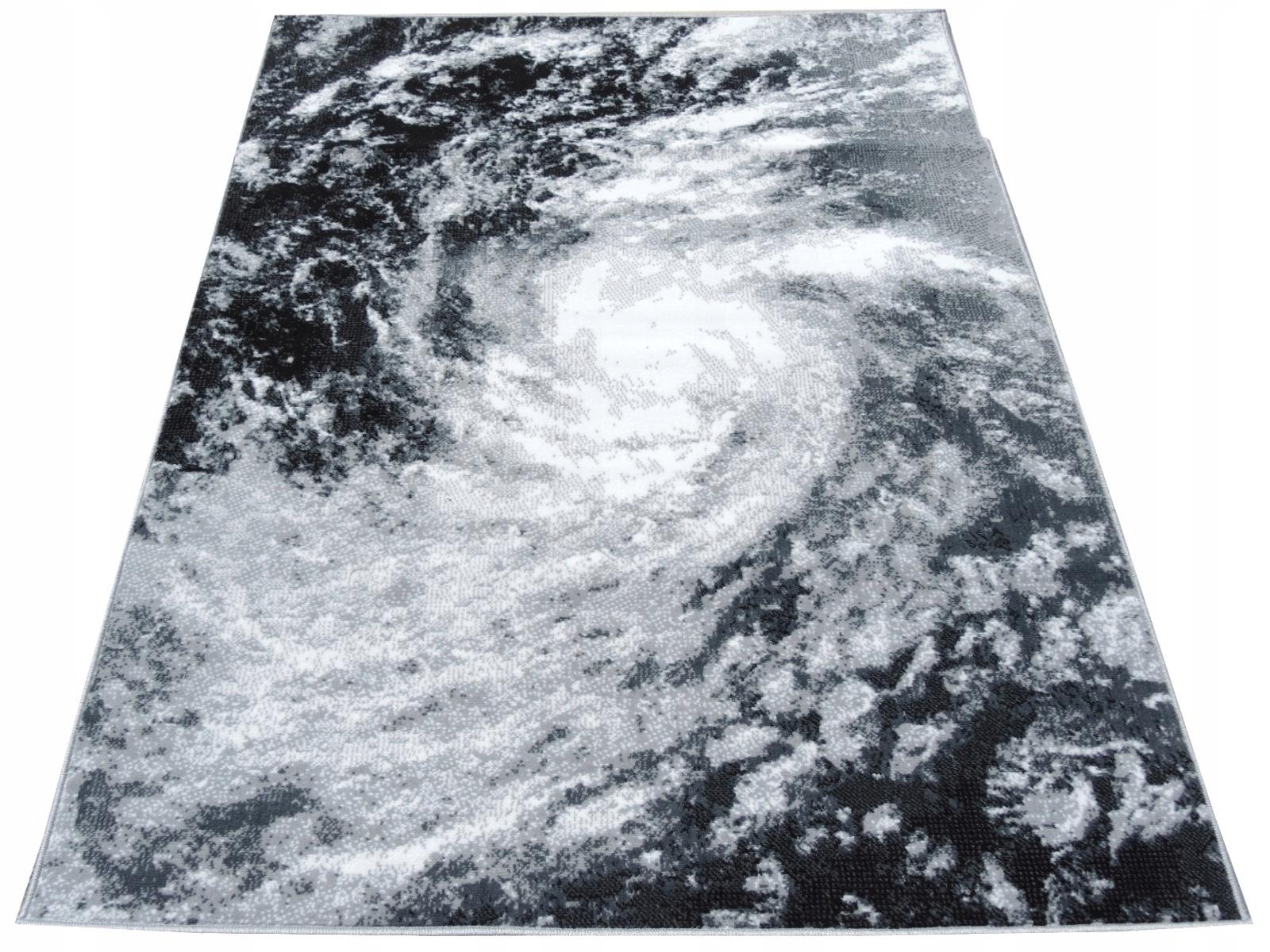 Dywany Młodzieżowe Cyklon Biel Popiel Oko 140x200