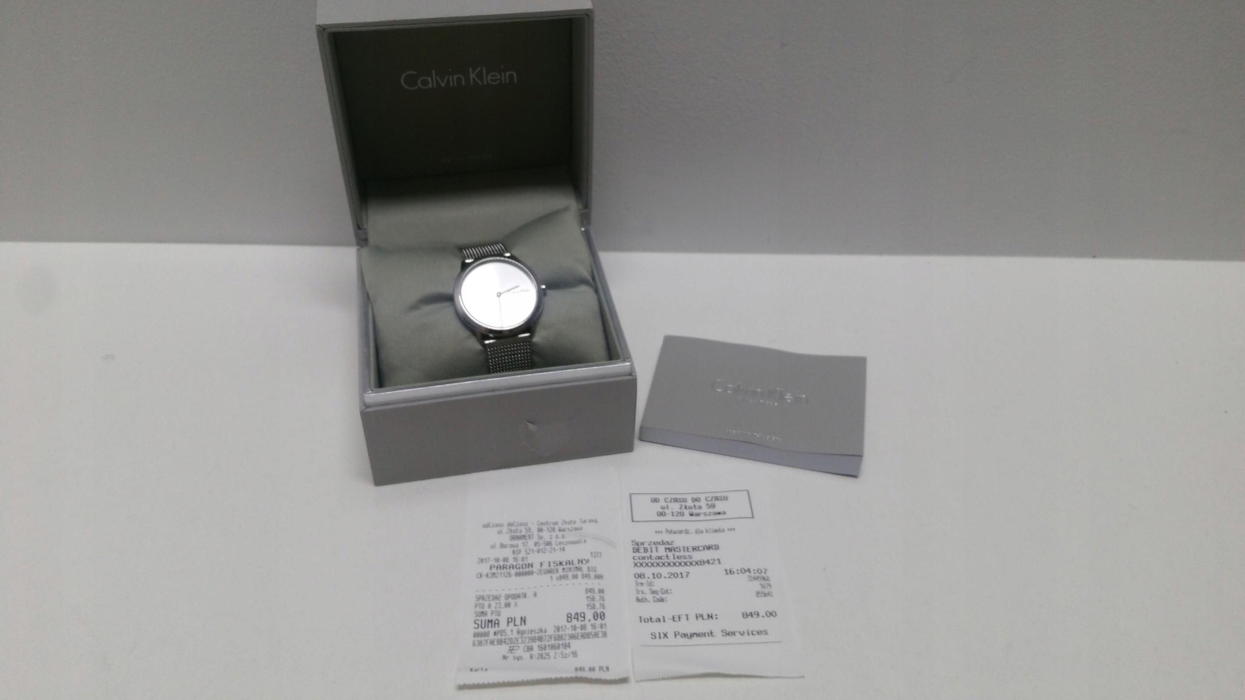 395d85c1c8667b Zegarki Calvin Klein cena od 200 cena do 500 Używany w Oficjalnym Archiwum  Allegro - Strona 7 - archiwum ofert