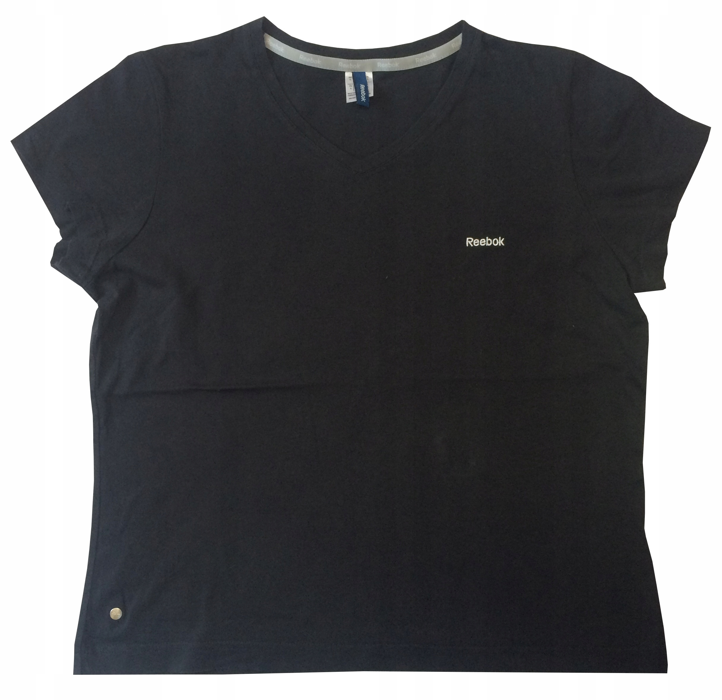 7e2d6c58aa REEBOK czarna koszulka damska t-shirt XL - 6851351372 - oficjalne ...