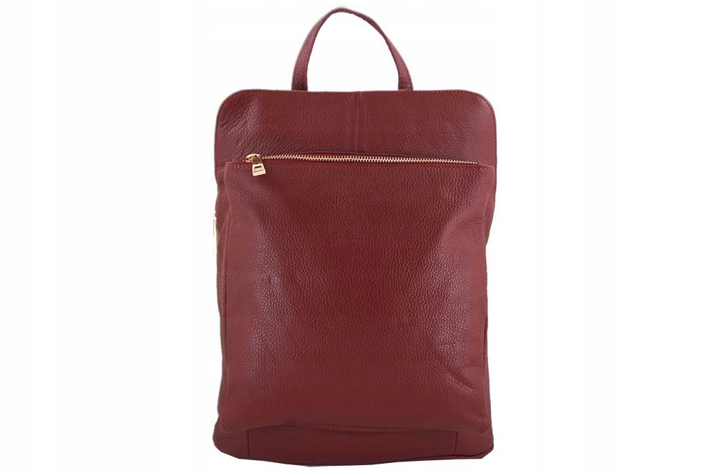 933191b8815de Modny plecak - Barberini's CZERWONY - 7519380462 - oficjalne ...