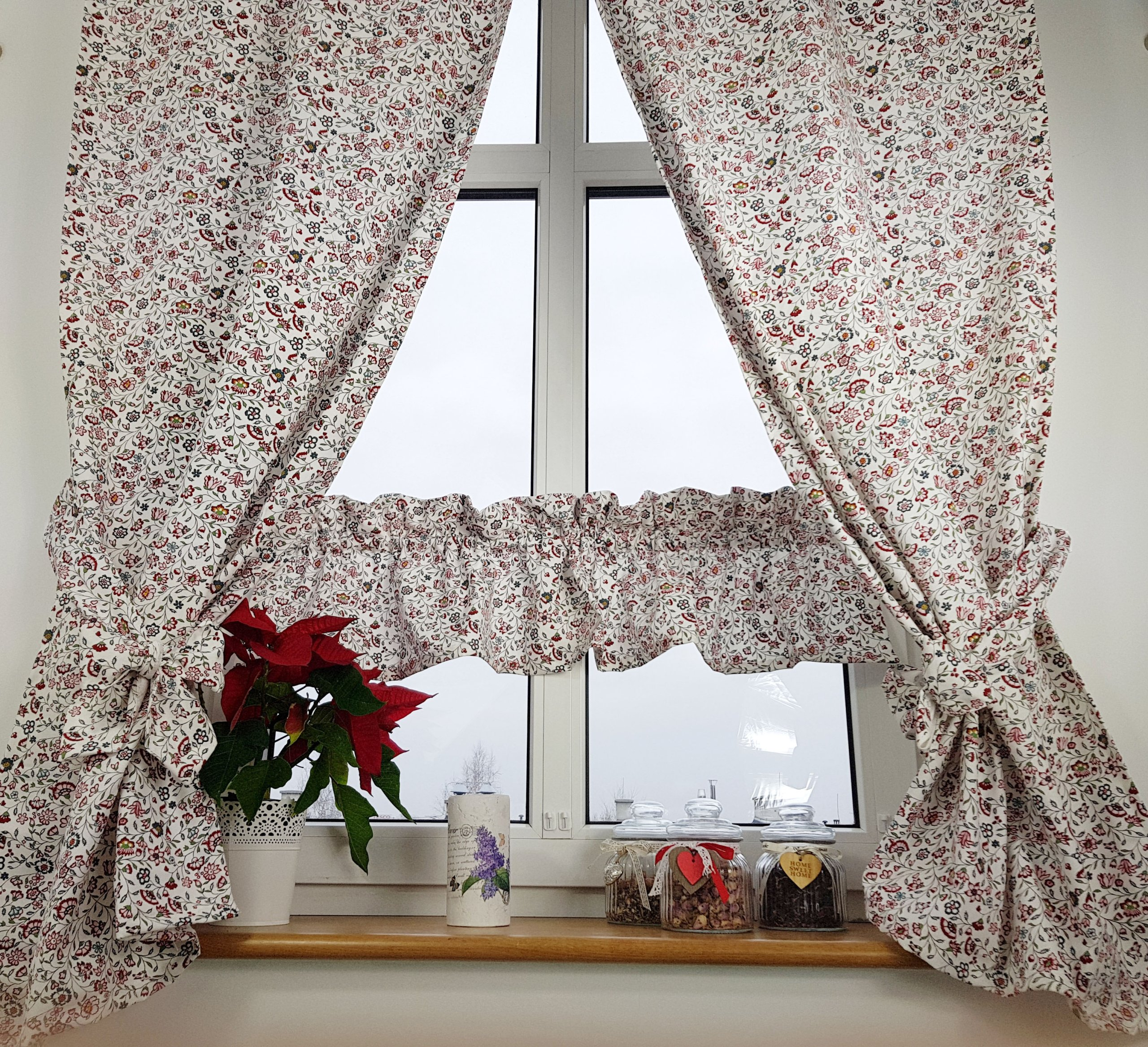 Komplet Zasłonzazdrostka Sigbritt Ikea Kwiaty 7133496874