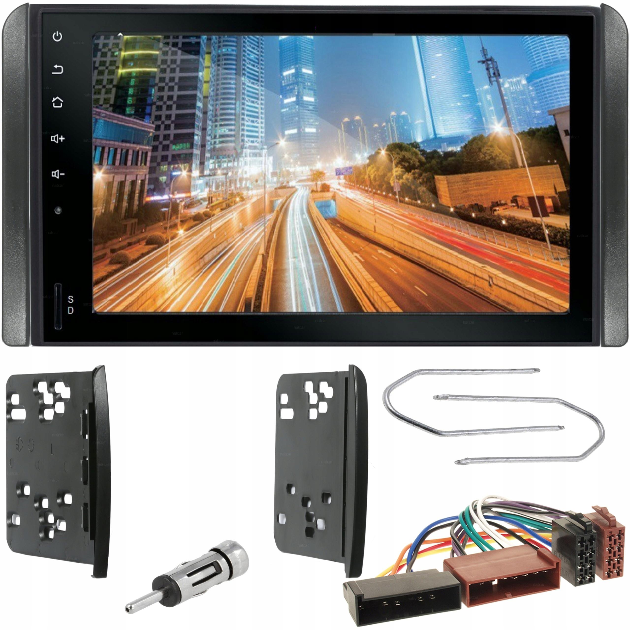 Inteligentny RADIO 2DIN RAMKA BLUETOOTH USB FORD MONDEO MK2 MK3 - 7384298222 HU56