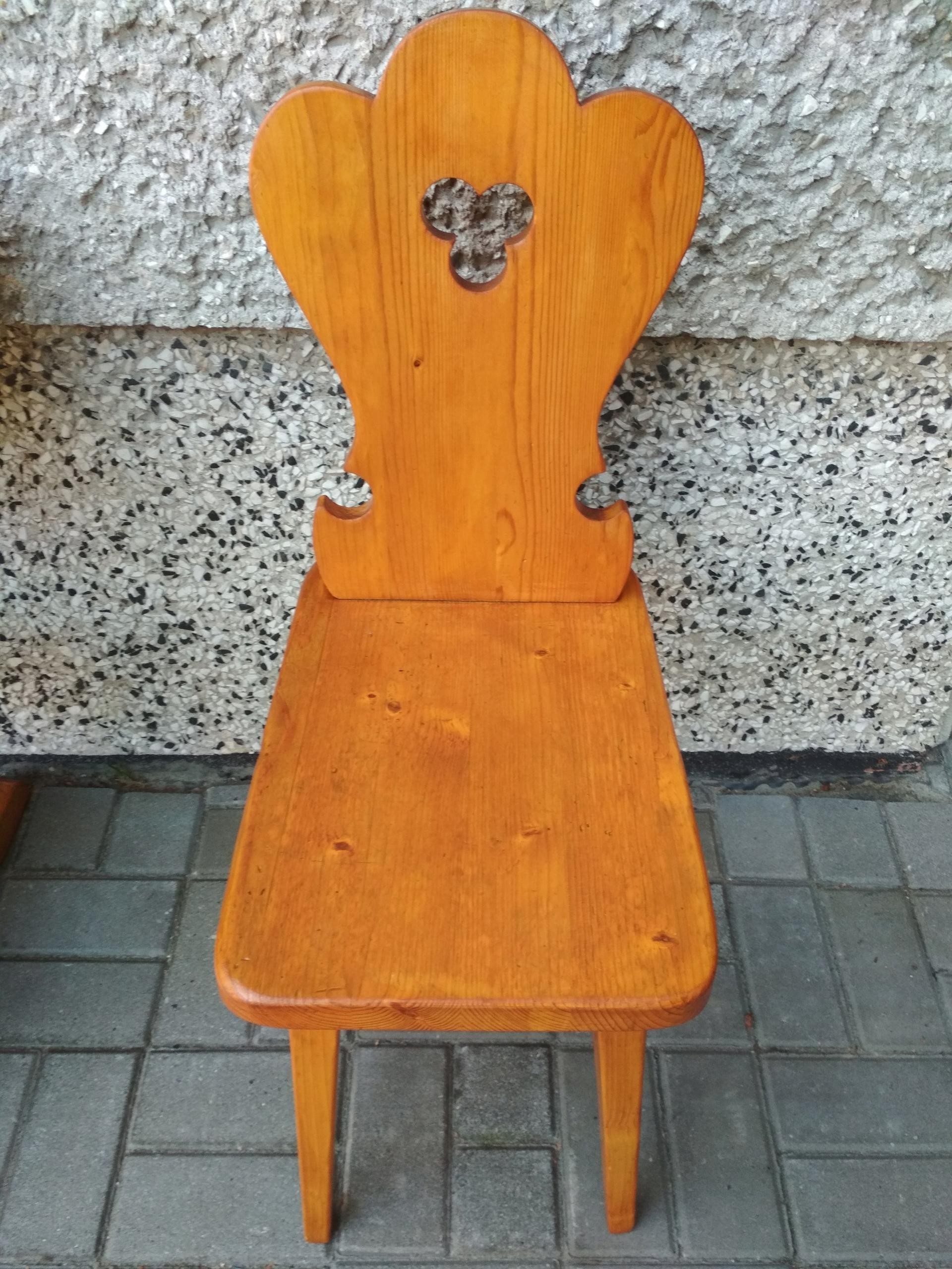 Oryginał Ława stół góralski + stołki krzesła zydle - 7685157234 - oficjalne FF75