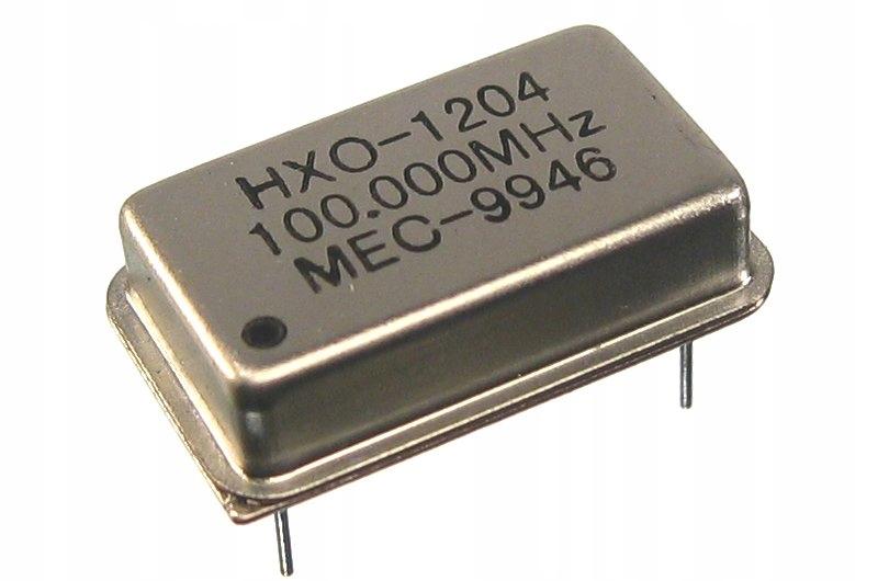 Oscylator generator kwarcowy 100.000 MHz