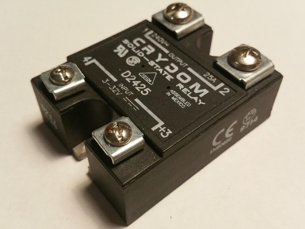 Przekanik Ssr Crydom 25a Dc Ac Solid State Relay 7136426660