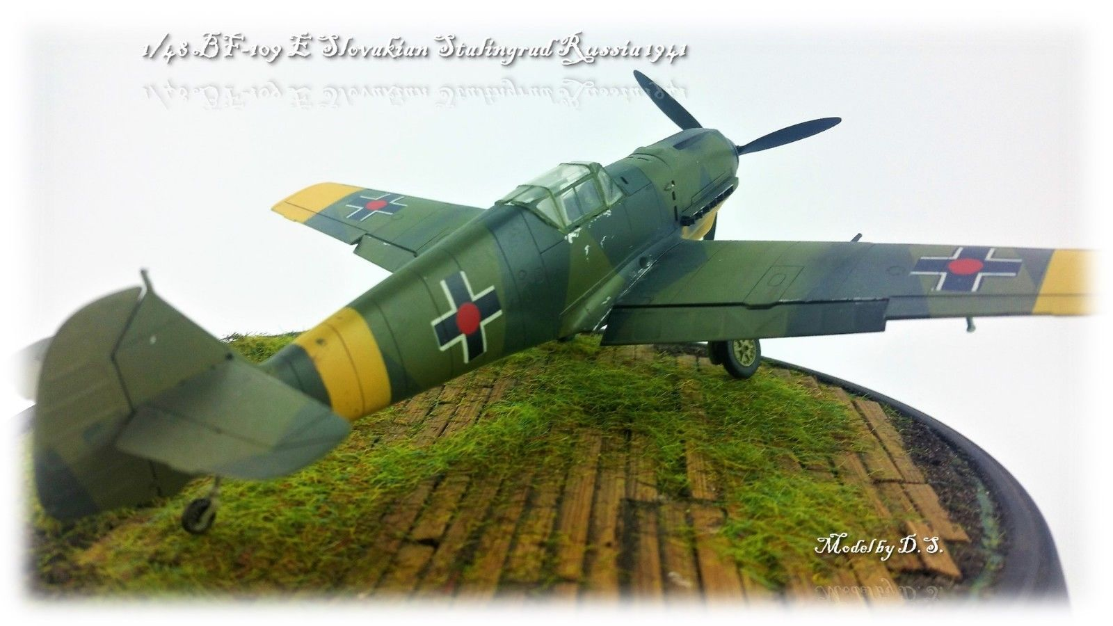 BF 109E-3 14 Squadron Slovak Eastern Front 1942