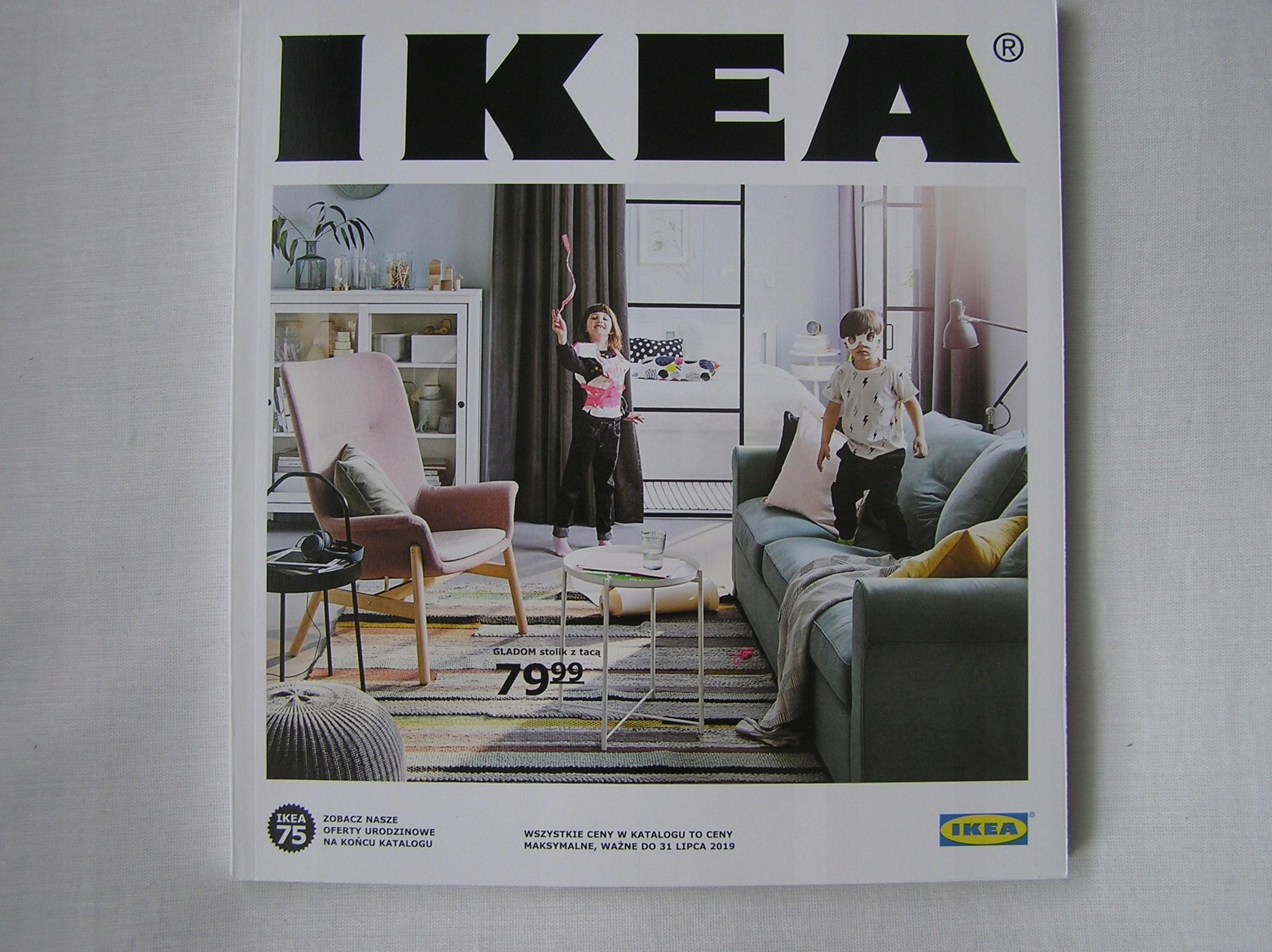 Katalog Ikea 2019 Najnowszy 7521896881 Oficjalne Archiwum Allegro