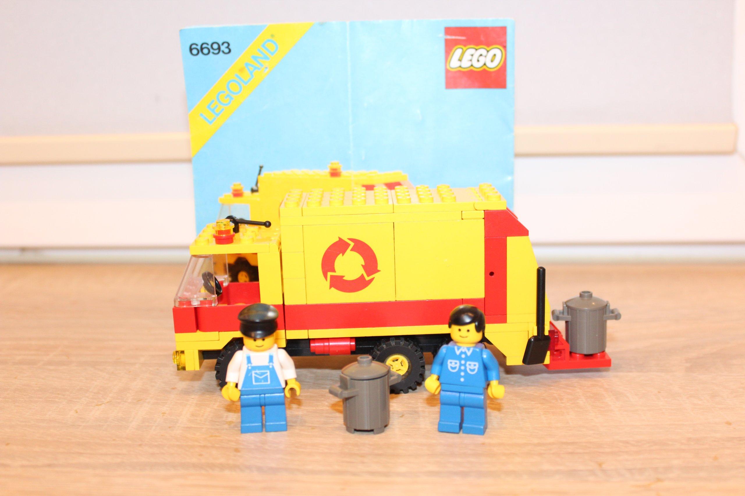 Lego Zestaw City Town śmieciarka 6693 Instrukcja 7257254141