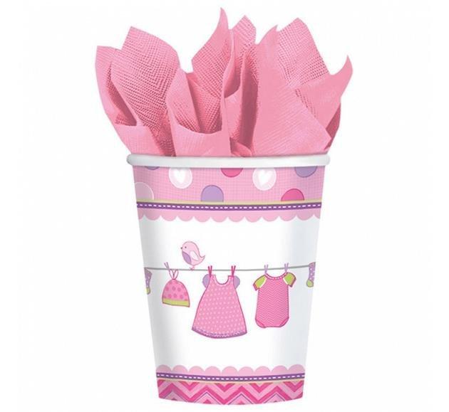 Kubeczki papierowe Shower With 8 szt. piknik