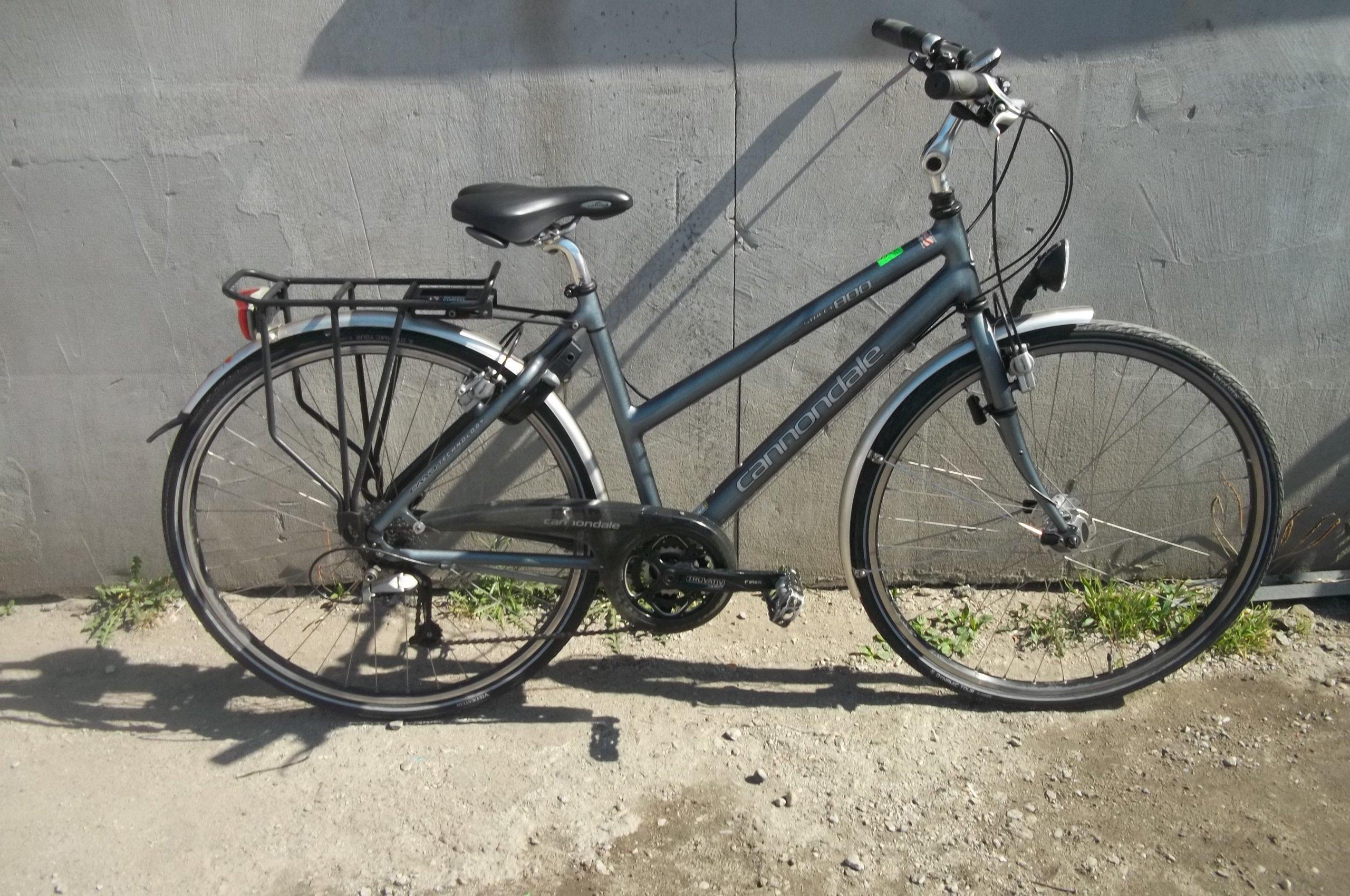 Porządny rower cannondale trekking deore lx