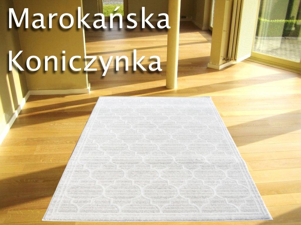 śliczne Dywany 190x270 Marokańska Koniczynka Hit
