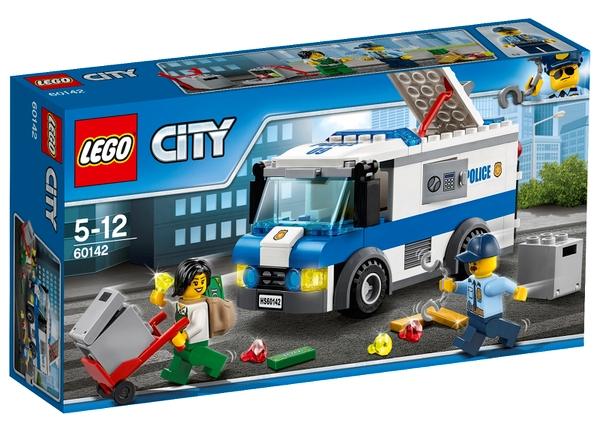 Lego City Furgonetka Policji Konwój 60142 Nowy 7087816196