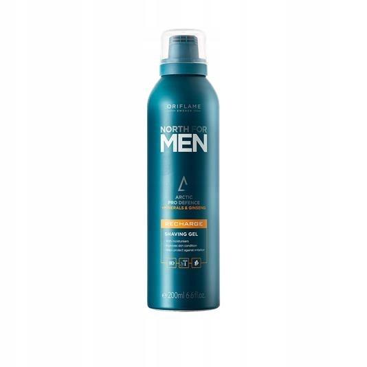 Żel do golenia North for Men Recharge Oriflame