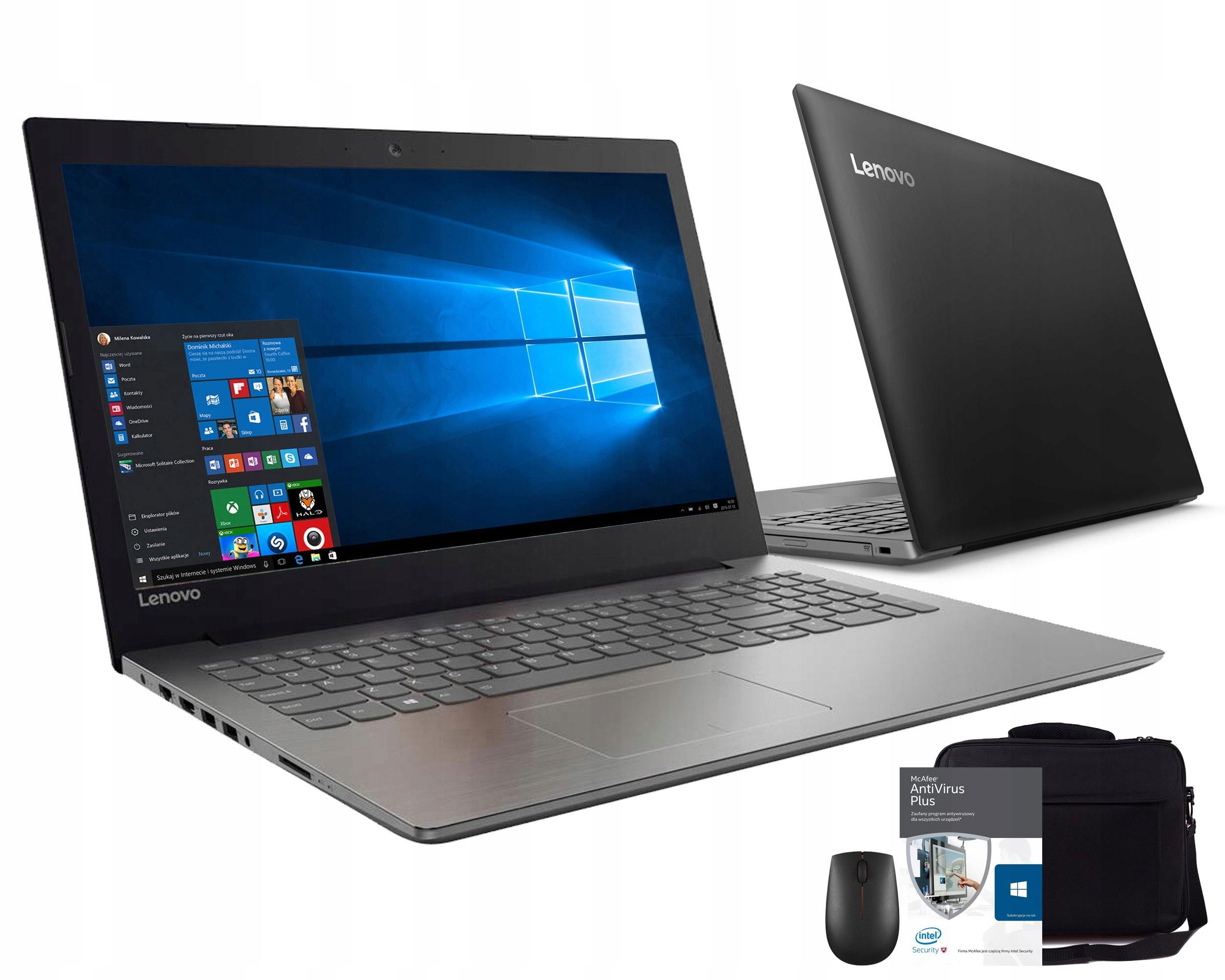 Lenovo Ideapad 320 A12 9720P 8GB 1TB Win10 ZESTAW
