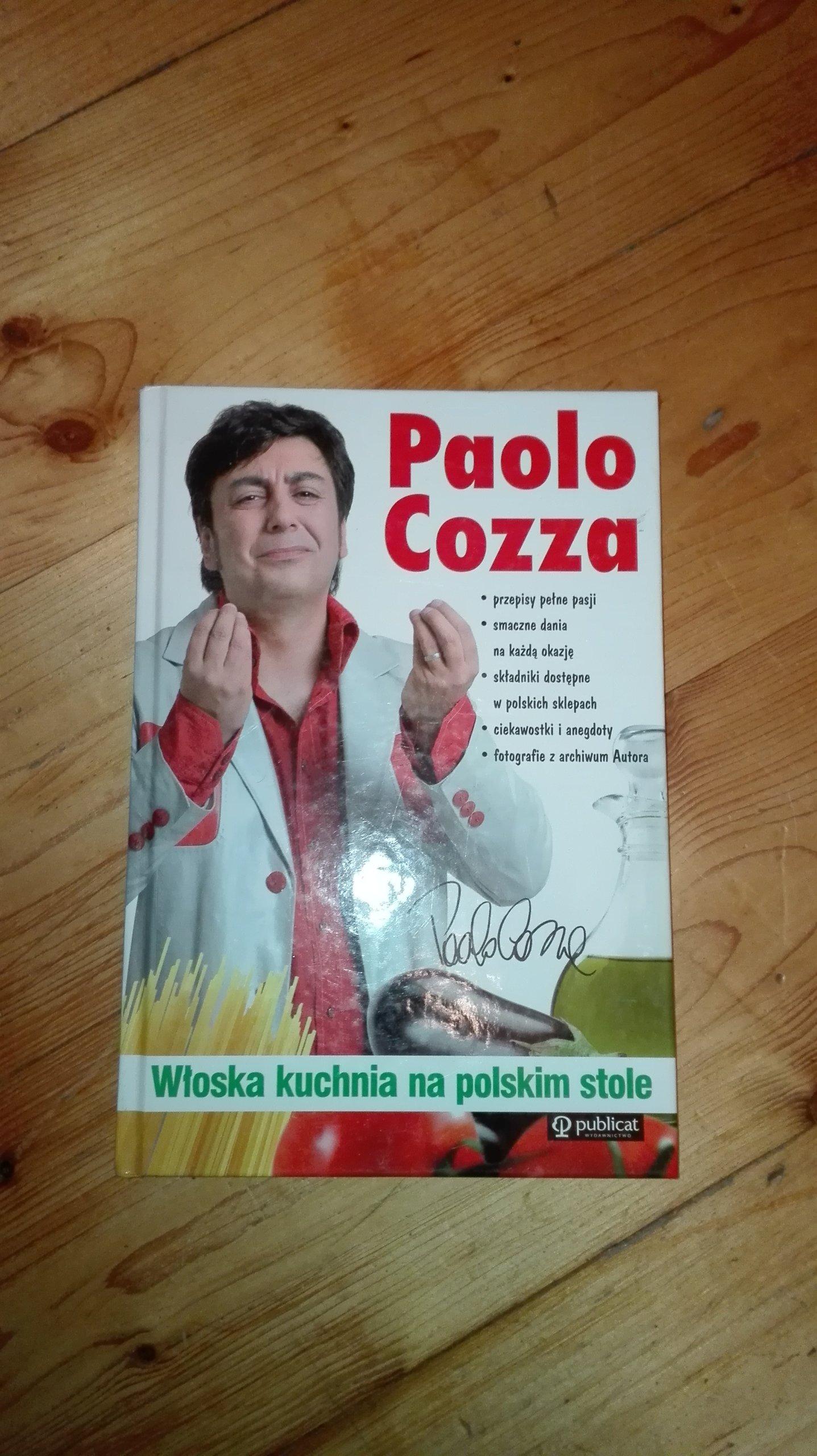 Ksiazka Kucharska Paolo Cozza Kuchnia Wloska