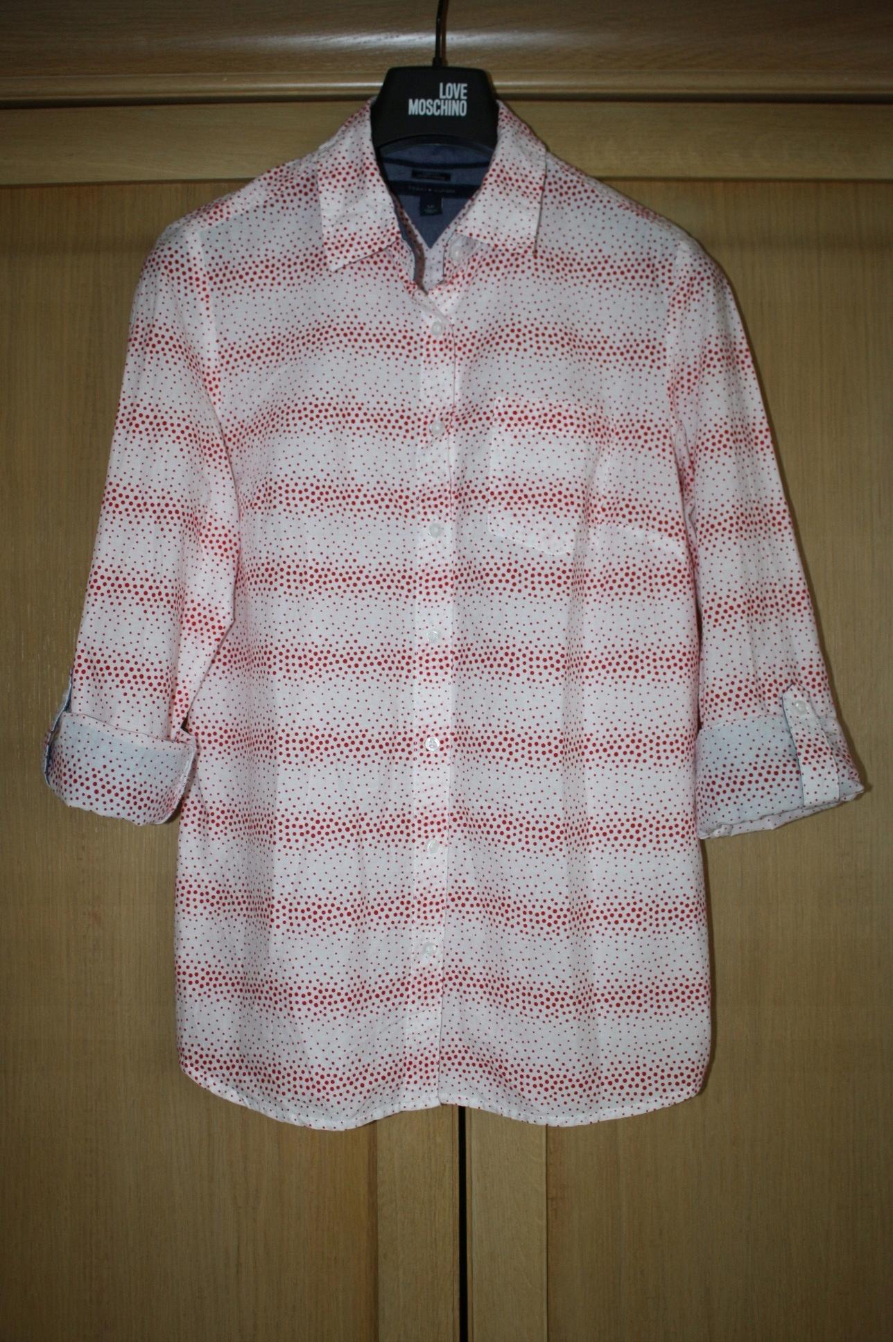 d55675e6b Boska damska koszula w kropki marki Tommy Hilfiger - 7535904013 ...