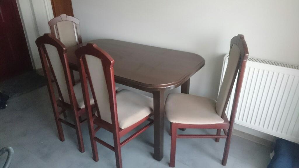 Stół Z Krzesłami Plus Stolik Bodzio 7061778611 Oficjalne