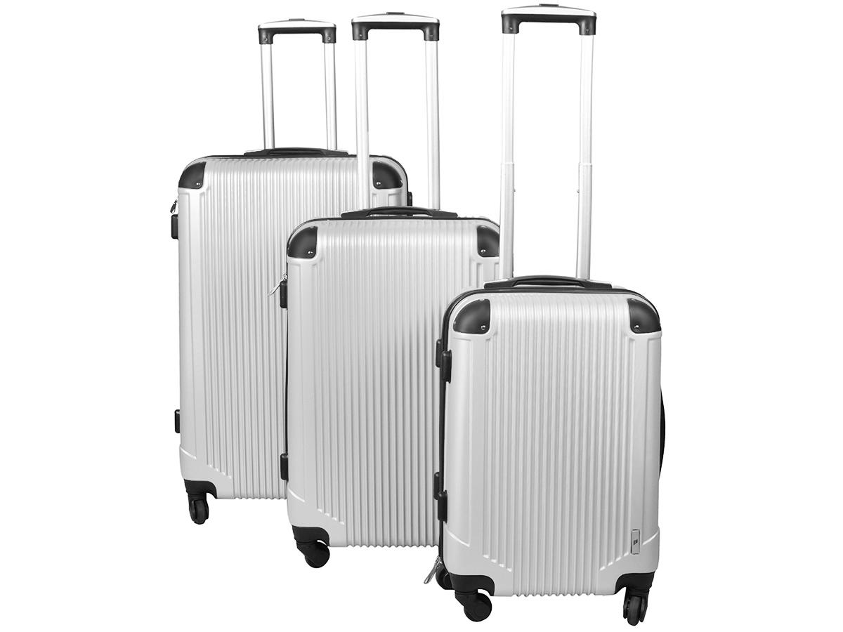 e3c919a67fe29 Zestaw WALIZEK 3w1 komplet walizka KÓŁKA torba sza - 6949524312 ...