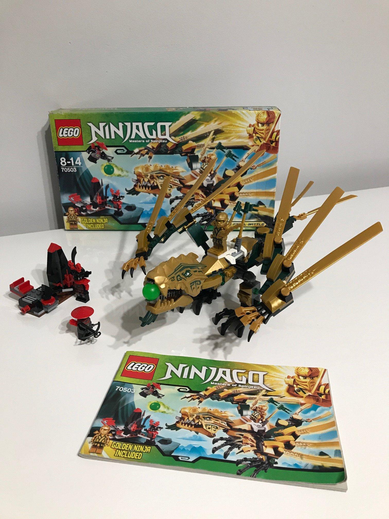Lego Ninjago Super 70503 Złoty Smok Jnowy 7143329896