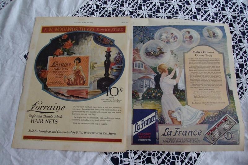 Stare Plakaty Reklamy Z Czasopism