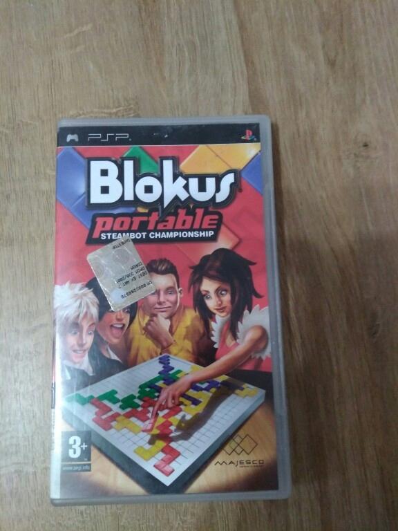 Gra PSP - Blokus Portable - Steambot Championship
