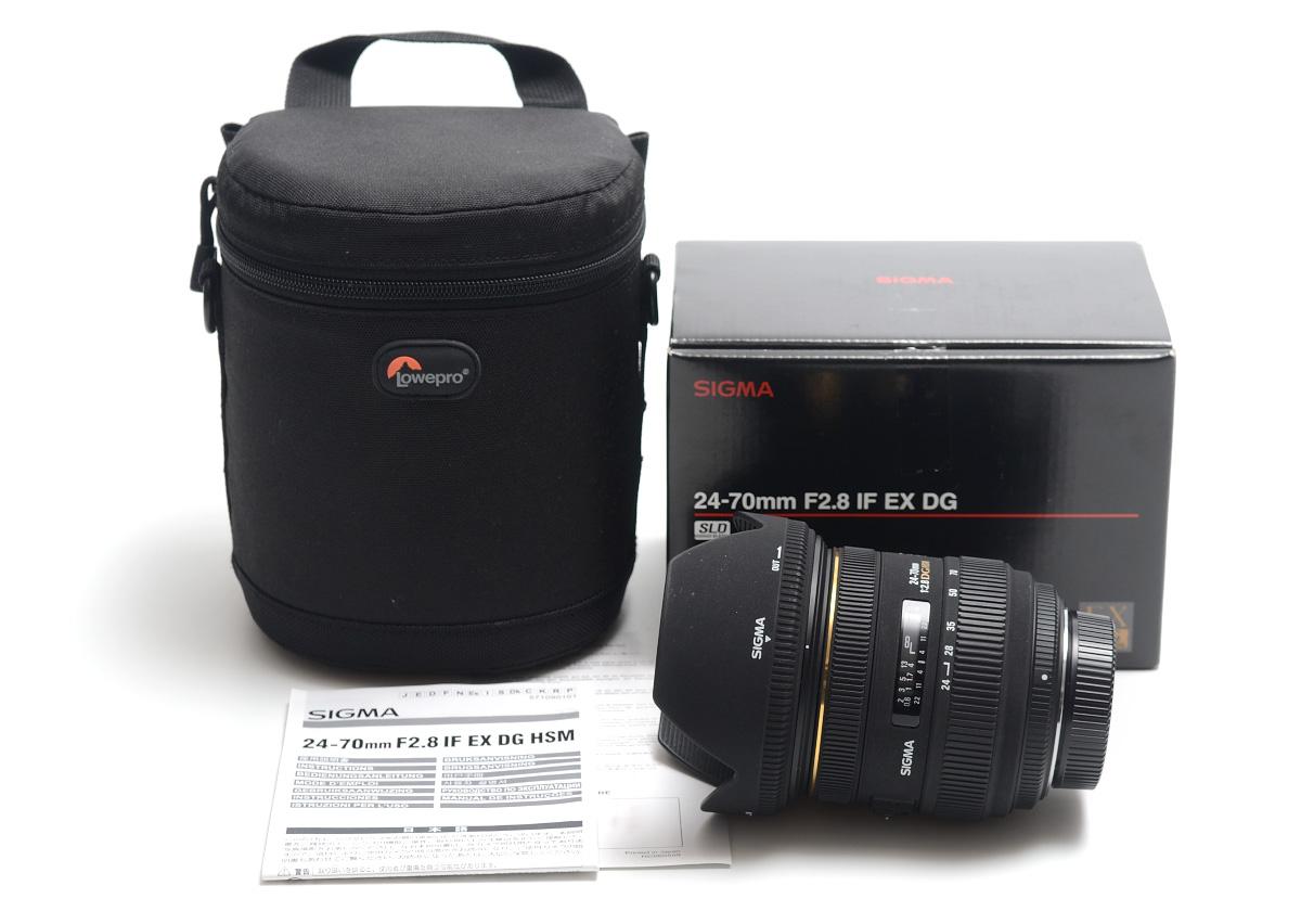 Sigma 24 70 Mm F 28 Ex Dg Hsm Nikon Lowepro 7203131891 For 70mm If