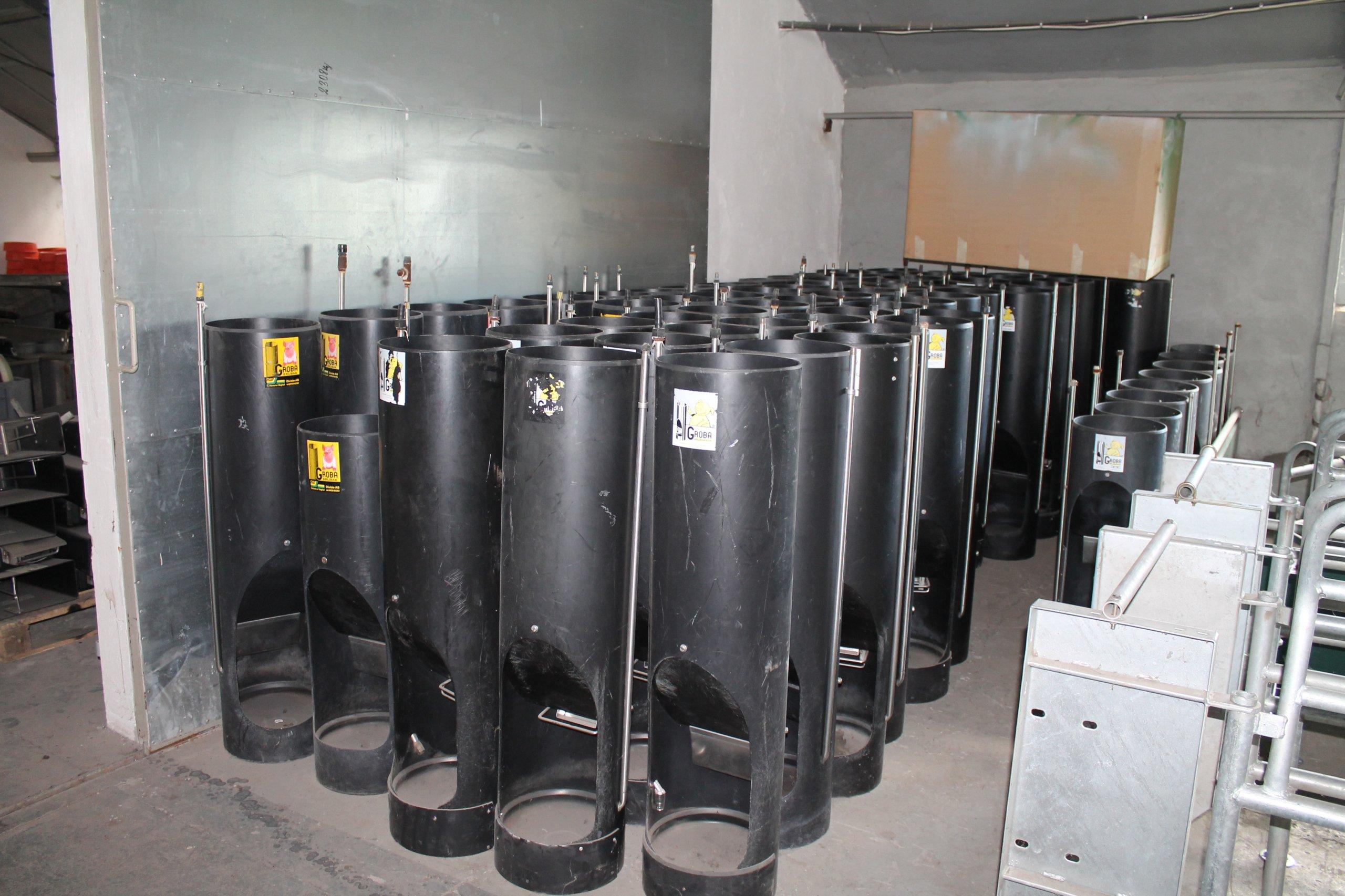 Inne rodzaje automat paszowy dla tuczników, holenderski GROBA . - 6935877356 MC02