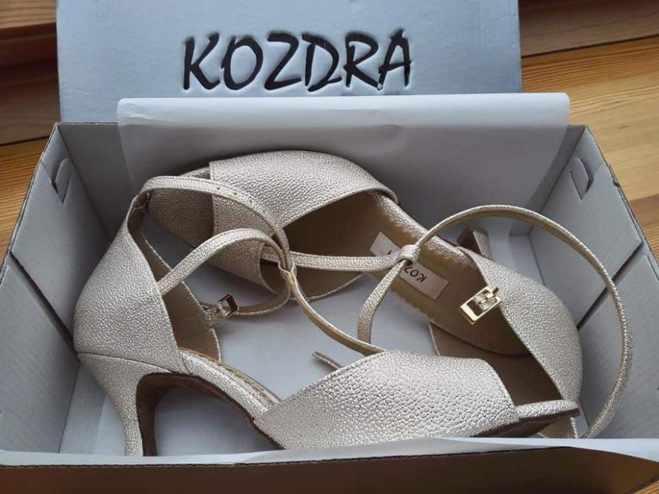 2cef39500b803 Buty taneczne złote KOZDRA buty ślubne piękne 38,5 - 7291359771 ...