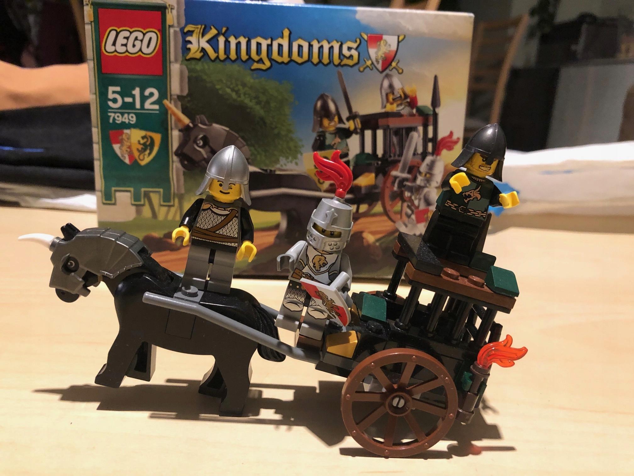 Lego 7949 Kingdoms + GRATIS