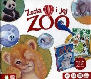 Zosia i jej zoo. Książka z grą planszową /Anna Sob