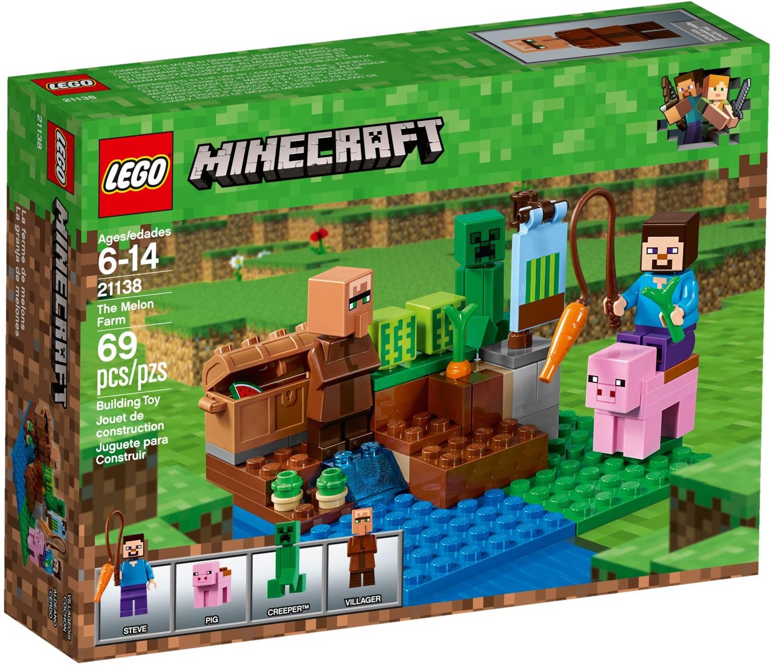 Klocki Lego Minecraft Farma Arbuzów 21138 7189359462 Oficjalne